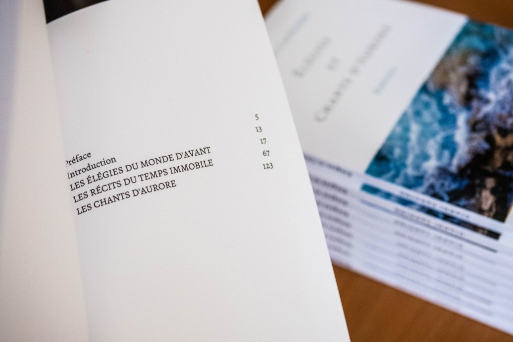 """Élégies et Chants d'Aurore"": the new poetry book of the artist and poet Gianni Candido"