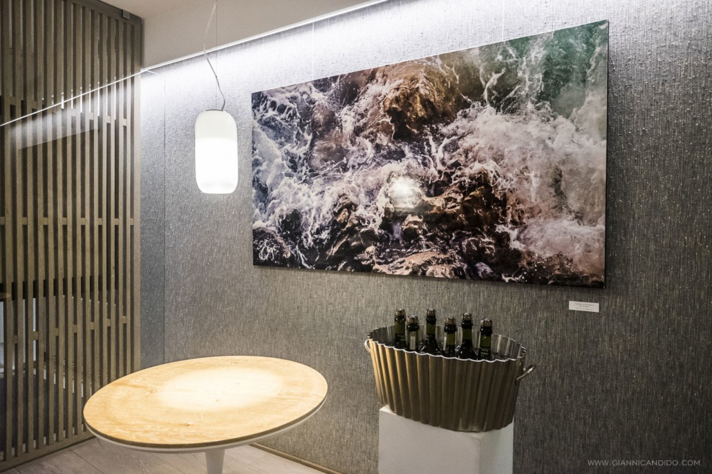New exhibition of the artist Gianni Candido at gastronomic restaurant Senzanome - Brussels - Belgium