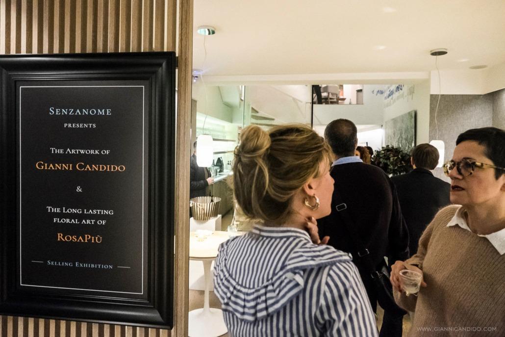 A Gianni Candido Exhibition - Senzanome